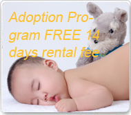 Adoption Program FREE 14 days rental fee